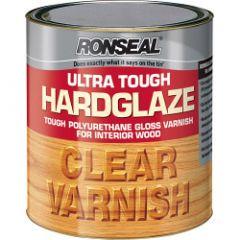 Ronseal Ultra Tough Varnish Hard Glaze 250Ml