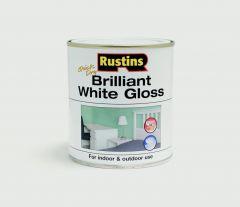 Rustins Quick Drying White Gloss 250Ml