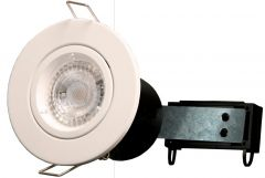 Powermaster Fire Rated Twist Lock Downlighter White