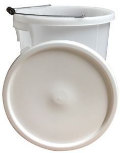 Proplas 28L Plasterers Bucket With Handle White