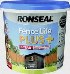 Ronseal Fence Life Plus 5L Charcoal Grey