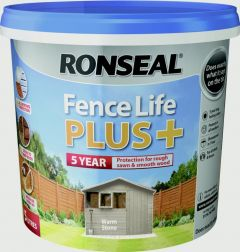 Ronseal Fence Life Plus 5L Warm Stone