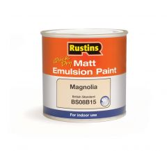 Rustins Matt Emulsion 250Ml Magnolia