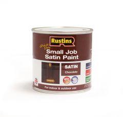 Rustins Qd Small Job Satin 250Ml Chocolate