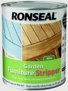 Ronseal Garden Furniture Stripper 750Ml Clear
