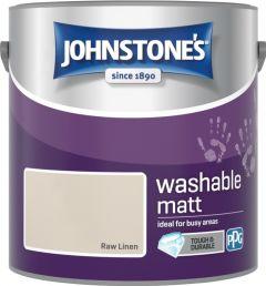 Johnstone's Washable Matt 2.5L Raw Linen