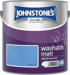 Johnstone's Washable Matt 2.5L Blue Star
