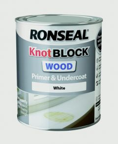Ronseal Knotblock Primer & Undercoat White 750Ml