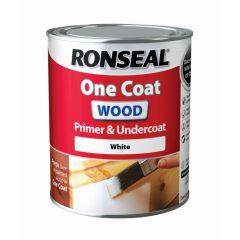 Ronseal One Coat Wood Primer & Undercoat 750Ml