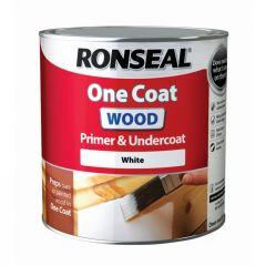 Ronseal One Coat Wood Primer & Undercoat 2.5L