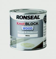Ronseal Knot Block Primer & Undercoat White 250Ml
