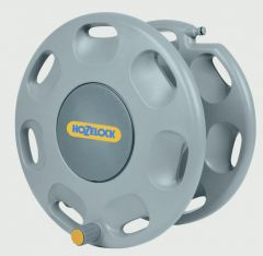 Hozelock Wall Mounted Reel With Hose Guide 60M