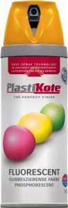 Plastikote Fluorescent Spray Paint Orange - 400Ml