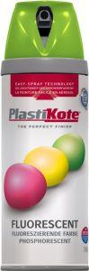 Plastikote Fluorescent Spray Paint Green - 400Ml