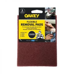 Oakey Paint & Varnish Removal Pad Pack 5