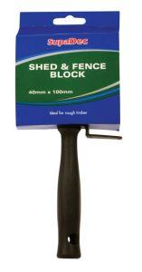 Supadec Shed & Fence Block Brush 4/100Mm