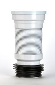 Make Mini Flexible Wc Pan Connector 200-350Mm