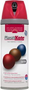 Plastikote Twist & Spray Paint 400Ml Real Red Satin
