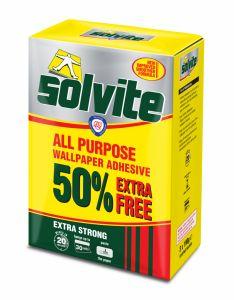 Solvite All Purpose Wallpaper Adhesive 20 Roll Plus 50%