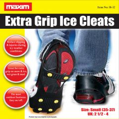 Maxim Extra Grip Ice Cleats Small