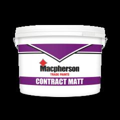 Macpherson Contract Matt 10L Brilliant White