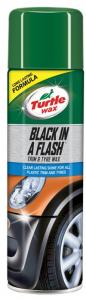 Turtle Wax Black N Flash 500Ml Aerosol