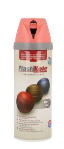 Plastikote Twist & Spray Paint 400Ml Dusty Coral Matt