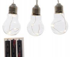 Lumineo Led Lightbulb String Light - 24 Lights 175Cm - Warm White
