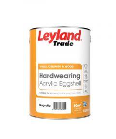 Leyland Trade Acrylic Eggshell 5L Magnolia