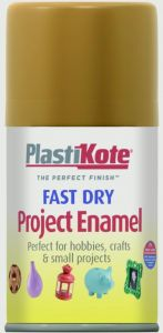 Plastikote Fast Dry Enamel Aerosol Paint Copper 100Ml