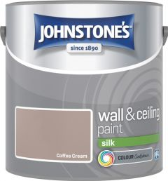 Johnstone's Wall & Ceiling Silk 2.5L Coffee Cream