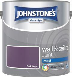 Johnstone's Wall & Ceiling Matt 2.5L Dark Angel