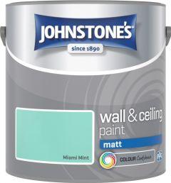 Johnstone's Wall & Ceiling Matt 2.5L Miami Mint
