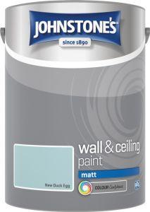 Johnstone's Wall & Ceiling Matt 5L New Duck Egg