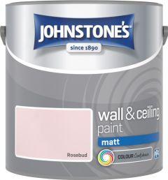 Johnstone's Wall & Ceiling Matt 2.5L Rosebud