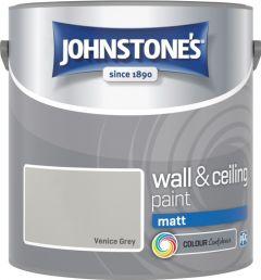 Johnstone's Wall & Ceiling Matt 2.5L Venice Grey