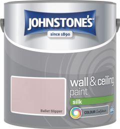 Johnstone's Wall & Ceiling Silk 2.5L Ballet Slipper
