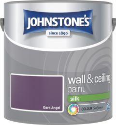 Johnstone's Wall & Ceiling Silk 2.5L Dark Angel