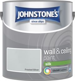 Johnstone's Wall & Ceiling Silk 2.5L Frosted Silver