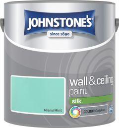 Johnstone's Wall & Ceiling Silk 2.5L Miami Mint