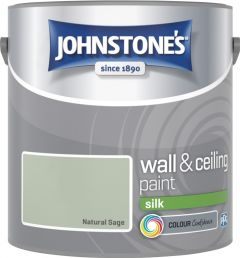Johnstone's Wall & Ceiling Silk 2.5L Natural Sage