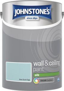 Johnstone's Wall & Ceiling Silk 5L New Duck Egg