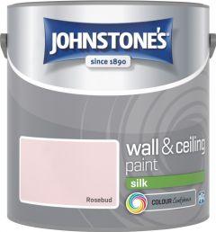 Johnstone's Wall & Ceiling Silk 2.5L Rosebud