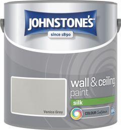 Johnstone's Wall & Ceiling Silk 2.5L Venice Grey