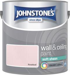 Johnstone's Wall & Ceiling Soft Sheen 2.5L Rosebud