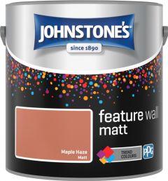 Johnstone's Feature Wall Matt 2.5L Maple Haze