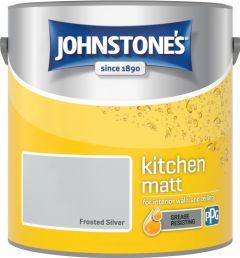 Johnstone's Kitchen Matt 2.5L Frosted Silver