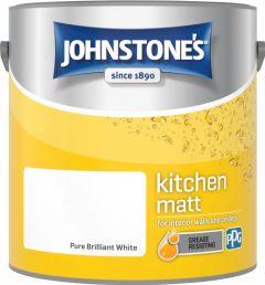 Johnstone's Kitchen Matt 2.5L Pure Brilliant White