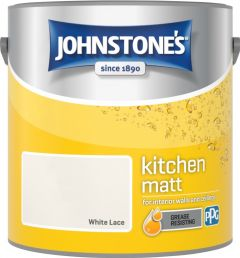 Johnstone's Kitchen Matt 2.5L White Lace