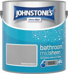 Johnstone's Bathroom Midsheen 2.5L Summer Storm
